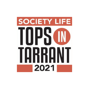 Society Life Tops in Tarrant 2021 logo